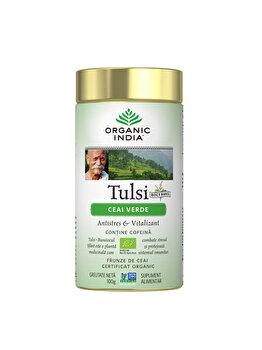Ceai Verde Tulsi Eco/Bio 100g Organic India de la ORGANIC INDIA