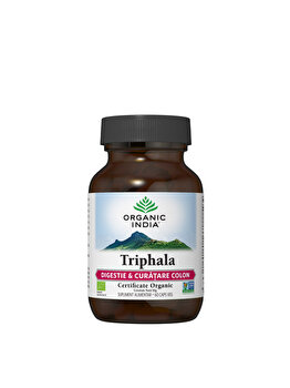 Supliment alimentar natural Triphala Eco/Bio 60cps veg Organic India de la ORGANIC INDIA
