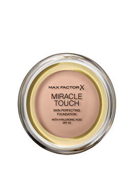 Fond de ten Max Factor Miracle Touch, 55 Blushing Beige, 11.5 g de la Max Factor