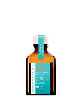 Tratament light Moroccanoil pentru par fin si deschis la culoare, 25 ml de la Moroccanoil