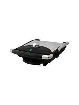 Grill toaster Albatros, GT-2000, 2000 W, termoizolant, Negru/Gri