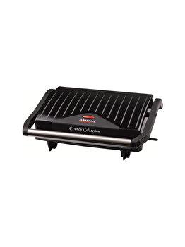 Sandwich maker, Albatros, GT-750 , 750 W, grill, Negru de la Albatros