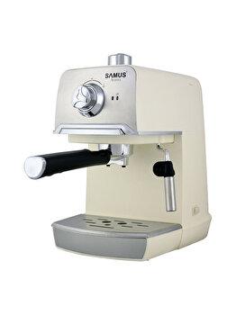 Espressor de cafea Samus, AROMA 20 WHITE, 850 W, 1200 ml, alb de la Samus