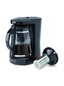 Filtru de cafea Albatros, DOLCE, 680 W, 1.2 L, Negru
