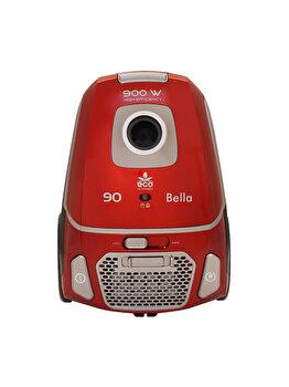 Aspirator, Albatros, Eco-type, filtru lavabil HEPA, putere de absorbtie 200 W, BELLA 90 ECO, Rosu