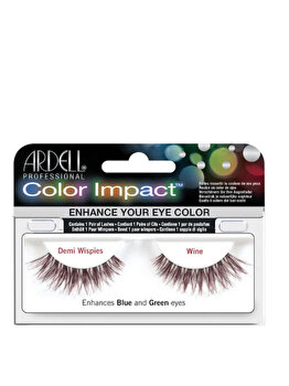 Gene false Ardell Color Impact Demi Wispies Wine de la Ardell