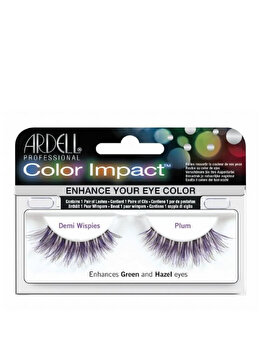 Gene false Ardell Color Impact Demi Wispies Plum de la Ardell