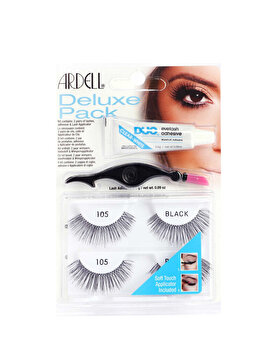Set Gene false Ardell Deluxe Pack Wispies Black de la Ardell