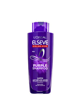 Sampon nuantator gri Color-Vive Purple Shampoo 200ml de la Elseve