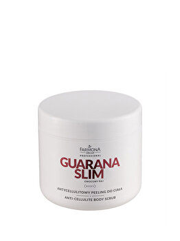 Exfoliant anticelulitic pentru corp, GUARANA SLIM, 600 g de la Farmona Professional
