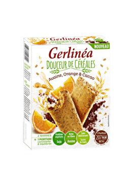 Gerlinea Batoane Ovaz – portocale – ciocolata 248g de la Gerlinea