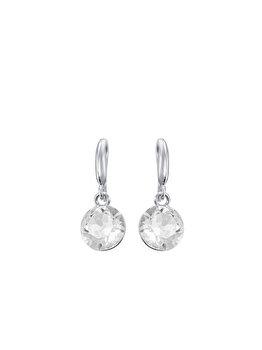 Cercei e-Crystal Argint 925 placat cu rodiu cu cristale Swarovski CXIH1043 de la e-Crystal