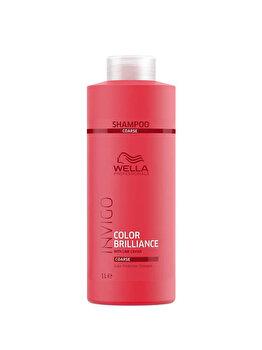 Sampon pentru par vopsit cu fir gros Wella Professionals Invigo Brilliance, 1000 ml de la Wella Professionals