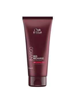 Balsam pigmentat pentru nuante reci de rosu Invigo Red Recharge Red, 200 ml, Wella Professionals de la Wella Professionals
