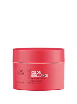 Masca pentru par vopsit Invigo Color Brilliance Fine-Normal, 150 ml, Wella Professionals de la Wella Professionals