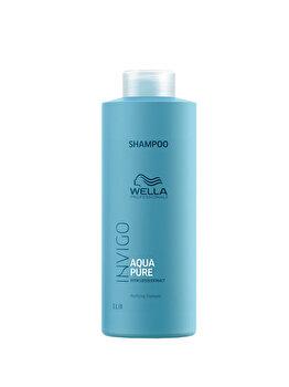 Sampon impotriva excesului de sebum Wella Professionals Invigo Aqua Pure, 1000 ml de la Wella Professionals
