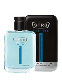 After shave STR8 Live True, 100 ml, pentru barbati de la STR8