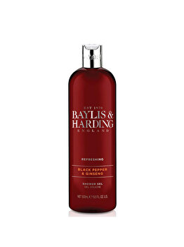 Gel de dus Baylis & Harding Black Pepper, 500ml de la Baylis And Harding