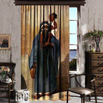 Perdea Cipcici, 785CPC6196, poliester 100 procente, 140 x 260 cm