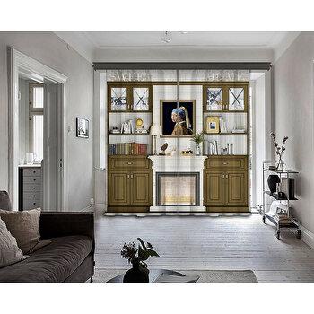 Perdea Cipcici, 785CPC8198, poliester 100 procente, 140 x 260 cm