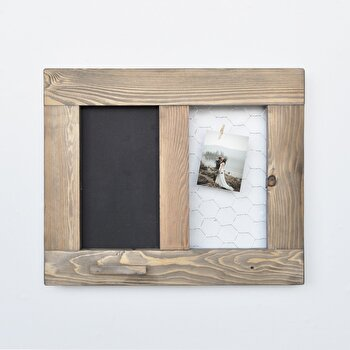 Panou Evila Originals, 792EVL1732, lemn masiv 100 procente, 36 x 42 x 4 cm de la Evila Originals