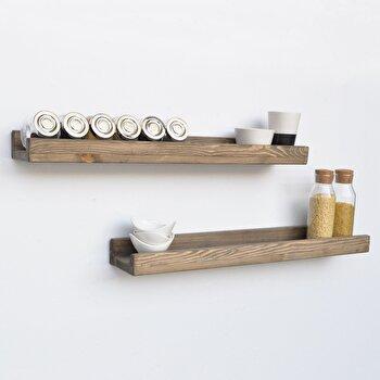 Raft Evila Originals, 792EVL1777, lemn masiv 100 procente, 70 x 6 x 13 cm de la Evila Originals