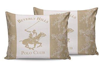 Set fete de perna Beverly Hills Polo Club, 176BHP0122, bumbac 100 procente, 2 piese, 50 x 70 cm de la Beverly Hills Polo Club