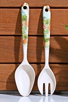 Set linguri Kosova, 430KSV0071, fibra de bambus 100 procente, 2 piese, 5 x 24 x 2 cm de la Kosova