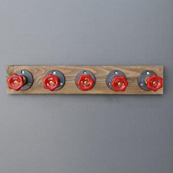 Cuier Evila Originals, 792EVL2636, lemn masiv 100 procente, 50 x 11 x 9 cm