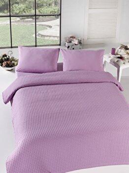 Cuvertura de pat dubla Eponj Home, 143EPJ5203, bumbac 100 procente, 200 x 240 cm