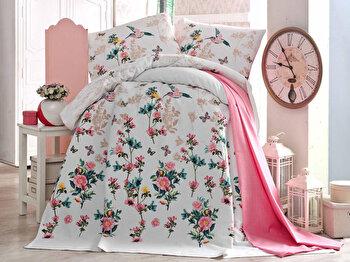 Cuvertura de pat – single Eponj Home, 143EPJ5765, bumbac 100 procente, 160 x 235 cm de la Eponj Home