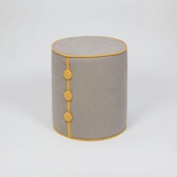 Taburet Homitis, 776HMS6035, acril, 41 x 41 x 46 cm de la Homitis