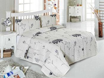 Set cuvertura pentru pat single Eponj Home, 143EPJ9346, bumbac 65 procente, poliester 35 procente, 180 x 240 cm de la Eponj Home
