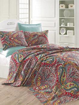 Cuvertura de pat – single Eponj Home, 143EPJ5360, bumbac 100 procente, 160 x 235 cm de la Eponj Home