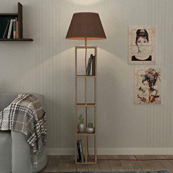Lampa pentru podea Homitis, 776HMS1404, pal melaminat, 45 x 45 x 163.5 cm de la Homitis