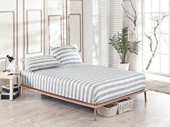 Set cearceaf de pat – single EnLora Home, 162ELR0527, bumbac 65 procente, poliester 35 procente, 100 x 200 cm de la EnLora Home
