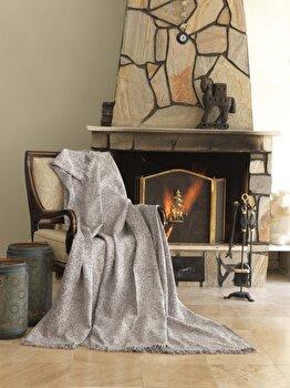 Patura pentru canapea Eponj Home, 336EPJ0427, bumbac 100 procente, 170 x 220 cm de la Eponj Home