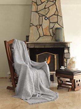 Patura pentru canapea Eponj Home, 336EPJ0426, bumbac 100 procente, 170 x 220 cm de la Eponj Home