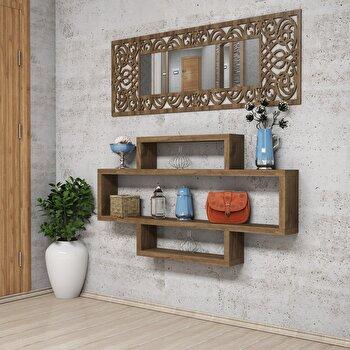 Raft de perete Puqa Design, 802CLP1604, pal melaminat, 120 x 14 x 65 cm de la Puqa Design