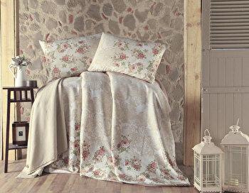 Cuvertura de pat – single Eponj Home, 143EPJ5772, bumbac 100 procente, 160 x 235 cm de la Eponj Home