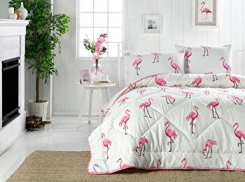 Cuvertura de pat – dubla Eponj Home, 143EPJ8201, bumbac 65 procente, poliester 35 procente, 195 x 215 cm de la Eponj Home