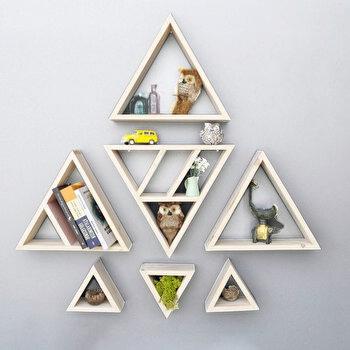 Raft de perete Evila Originals, 792EVL1811, lemn masiv 100 procente, 40 cm de la Evila Originals