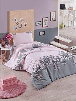 Set lenjerie de pat – single Eponj Home, 143EPJ1180, bumbac 65 procente, poliester 35 procente, 160 x 230 cm de la Eponj Home