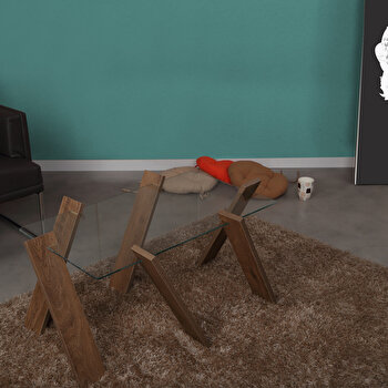 Masa pentru cafea Comforty, 801CMY2813, pal melaminat, 41 x 92 x 57 cm de la Comforty