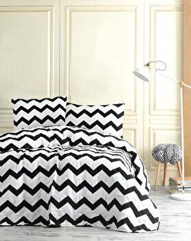 Set cuvertura de pat – dubla EnLora Home, 162ELR9235, bumbac 65 procente, poliester 35 procente, 180 x 240 cm de la EnLora Home