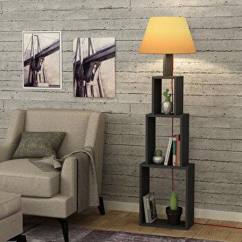 Lampa de podea Homitis, 776HMS1409, pal melaminat, 15 x 40 x 168 cm de la Homitis