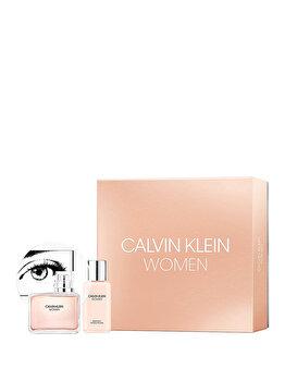 Set cadou Calvin Klein Women (Apa de parfum 100 ml + Lotiune de corp 100 ml), pentru femei de la Calvin Klein