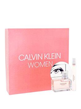 Set cadou Calvin Klein Women (Apa de parfum 50 ml + Apa de parfum 10 ml ), pentru femei de la Calvin Klein