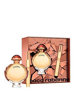 Set cadou Paco Rabanne Olympea Intense (Apa de parfum 80 ml + Apa de parfum 10 ml), pentru femei de la Paco Rabanne