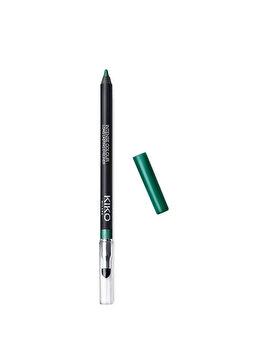 Creion de ochi Intense Colour Long Lasting Eyeliner, 08 Metallic Emerald, 1.2 g de la Kiko Milano